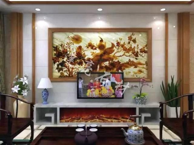 新中式背景墙4