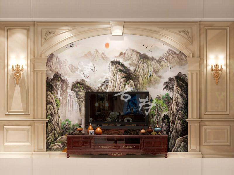 3d背景墙会让您的家温馨自然~