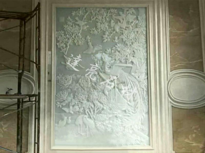 雕刻背景墙11
