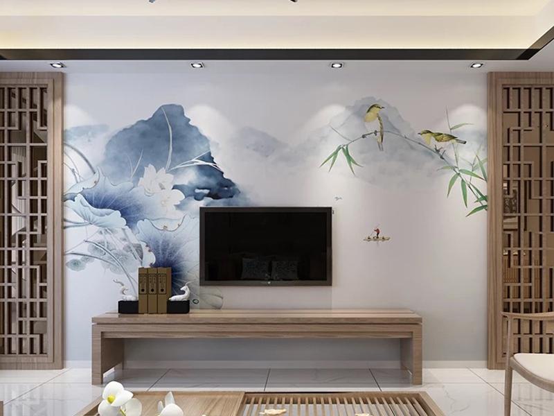 背景墙中国风风格1