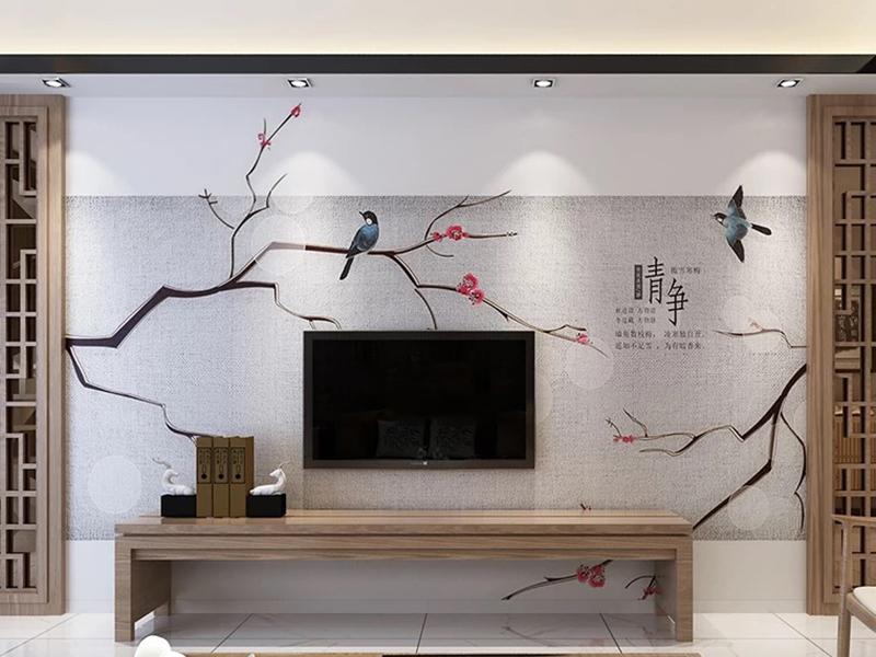 背景墙中国风风格2