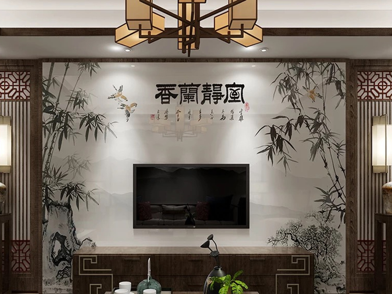 背景墙中国风风格9
