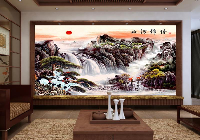 中式风的背景墙怎样装好看